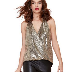 Sequin Halter Tops