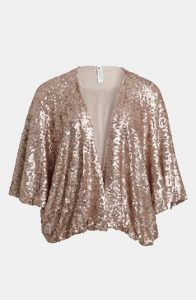 Sequin Shrug