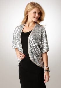 Sequin Shrug Images