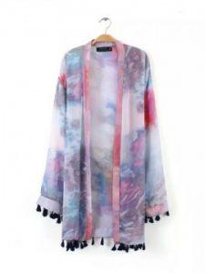 Tie Dye Japanese Kimono