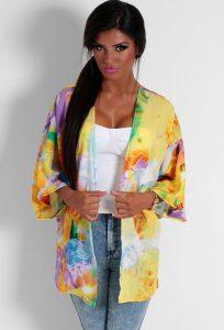 Tie Dye Kimono