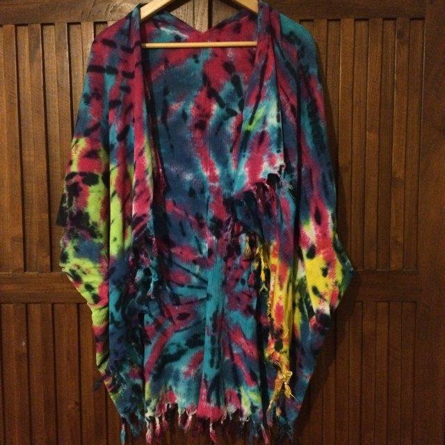 Tie Dye Kimono Wardrobemag Com