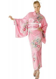 Traditional Pink Kimono