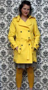 Trench Coat Yellow