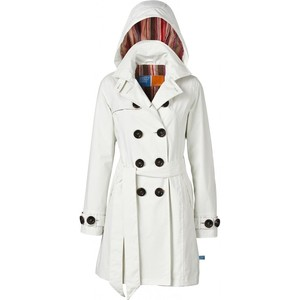 Trench Coat for Women with Hood
