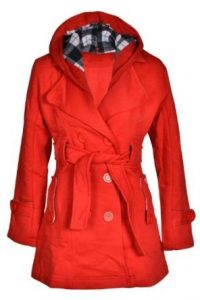 Trench Coat with Hood Women
