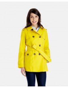 Trench Yellow Coat