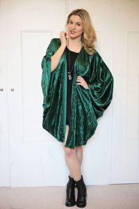 Velvet Kimono Images