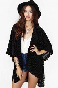 Velvet Kimono Pictures