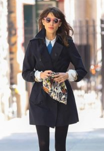Women Black Trench Coat