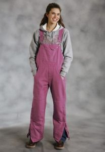 Womens Pink Overalls