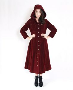 Womens Trench Coat with Hood Images