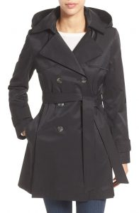 Womens Trench Coat with Hood Pictures