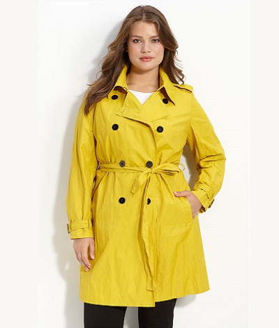 Yellow Trench Coat