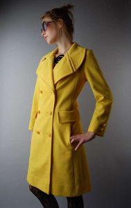Yellow Trench Coats