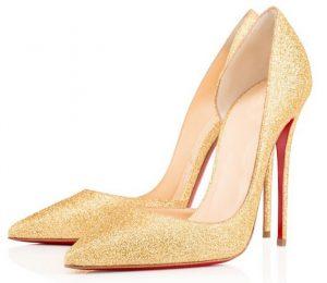 Gold Pumps Shoes Pictures