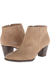 Ladie Beige Ankle Boots