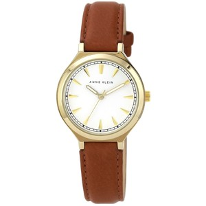 Brown Leather Watch Womens