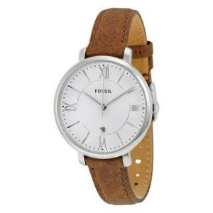 Brown Leather Womens Watch