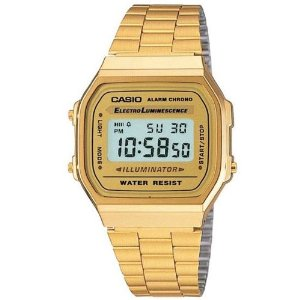 Digital Gold Watch