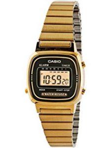 Digital Watch Gold
