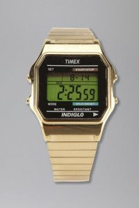 Gold Digital Watch Images