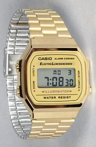 Gold Digital Watch Pictures