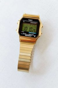 Gold Digital Watches