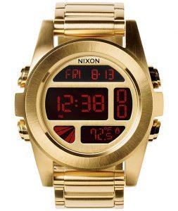 Nixon Gold Digital Watch