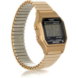 Timex Gold Digital Watch