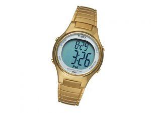 Womens Gold Digital Watch