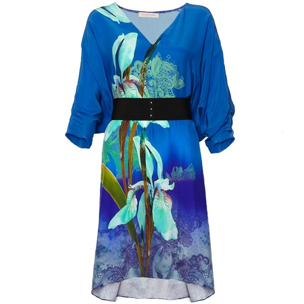 Blue Kimono - Wardrobe Mag