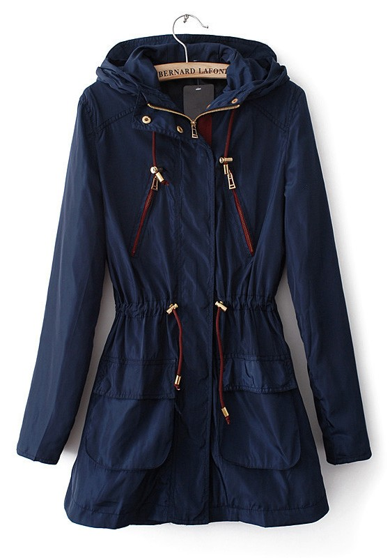 Blue Trench Coat Wardrobemag Com