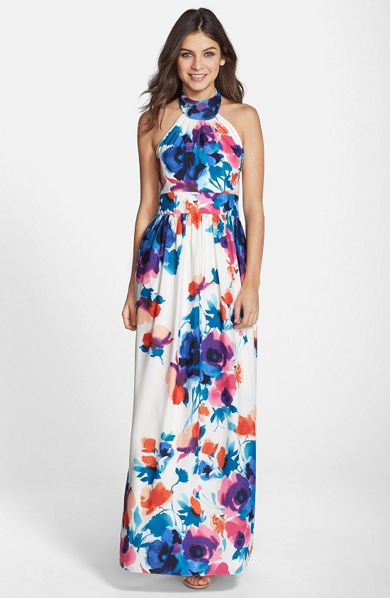 Halter Top Maxi Dress | Wardrobe Mag