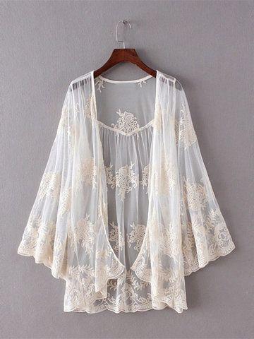 White Lace Kimono Wardrobemag Com