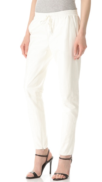 Women S White Jogger Pants Wardrobe Mag