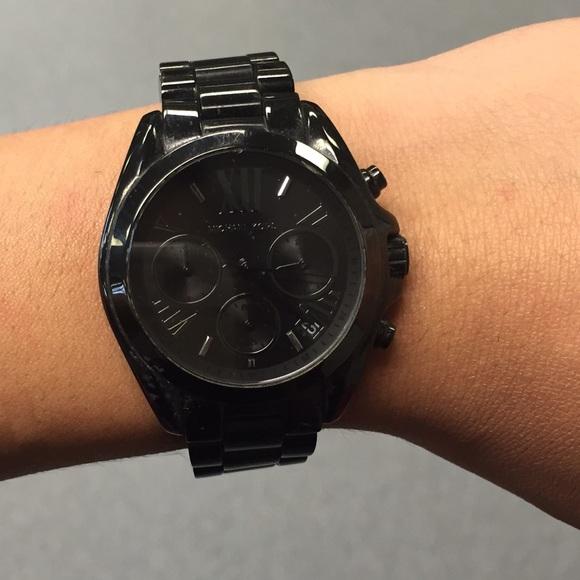 Women S Matte Black Watch Wardrobe Mag