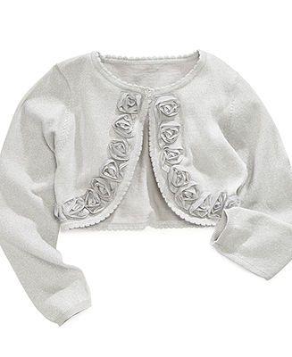 Little Girl s Faux Fur Hood Flower Girl Bolero Jacket Cover Shrug Sweater Cape White 2 (L11T11) Product - Girls Black Satin Special Occasion Bolero Shrug Product Image.