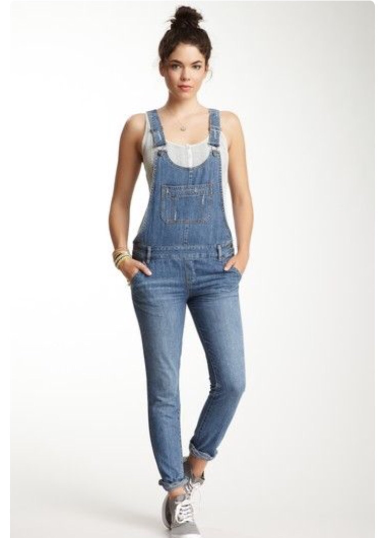 11cd1e37f1a Amazon.com  Machine Women s Juniors Skinny Leg Torn Denim Overalls (L
