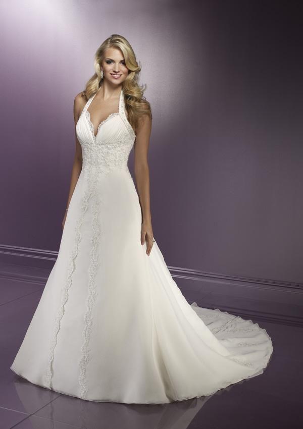 a64d4d9235a Halter Top Wedding Dresses Wardrobe Mag