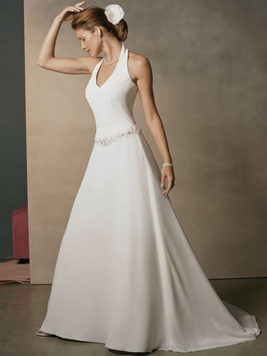 Halter top wedding dresses wardrobe mag junglespirit Choice Image