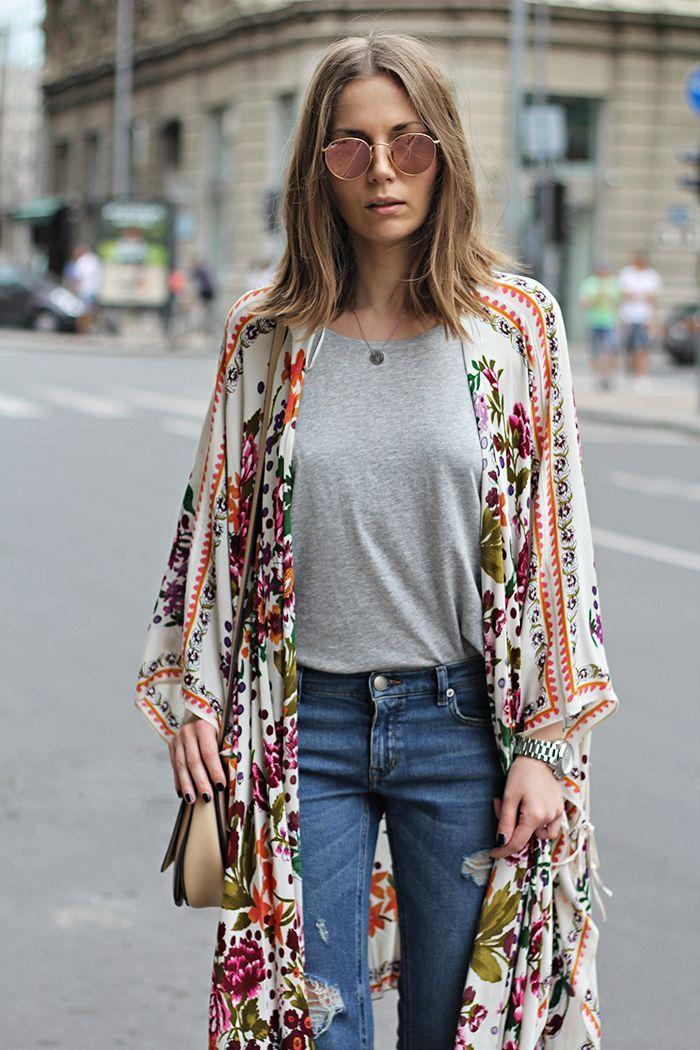 Bohemian Kimono | Wardrobe Mag