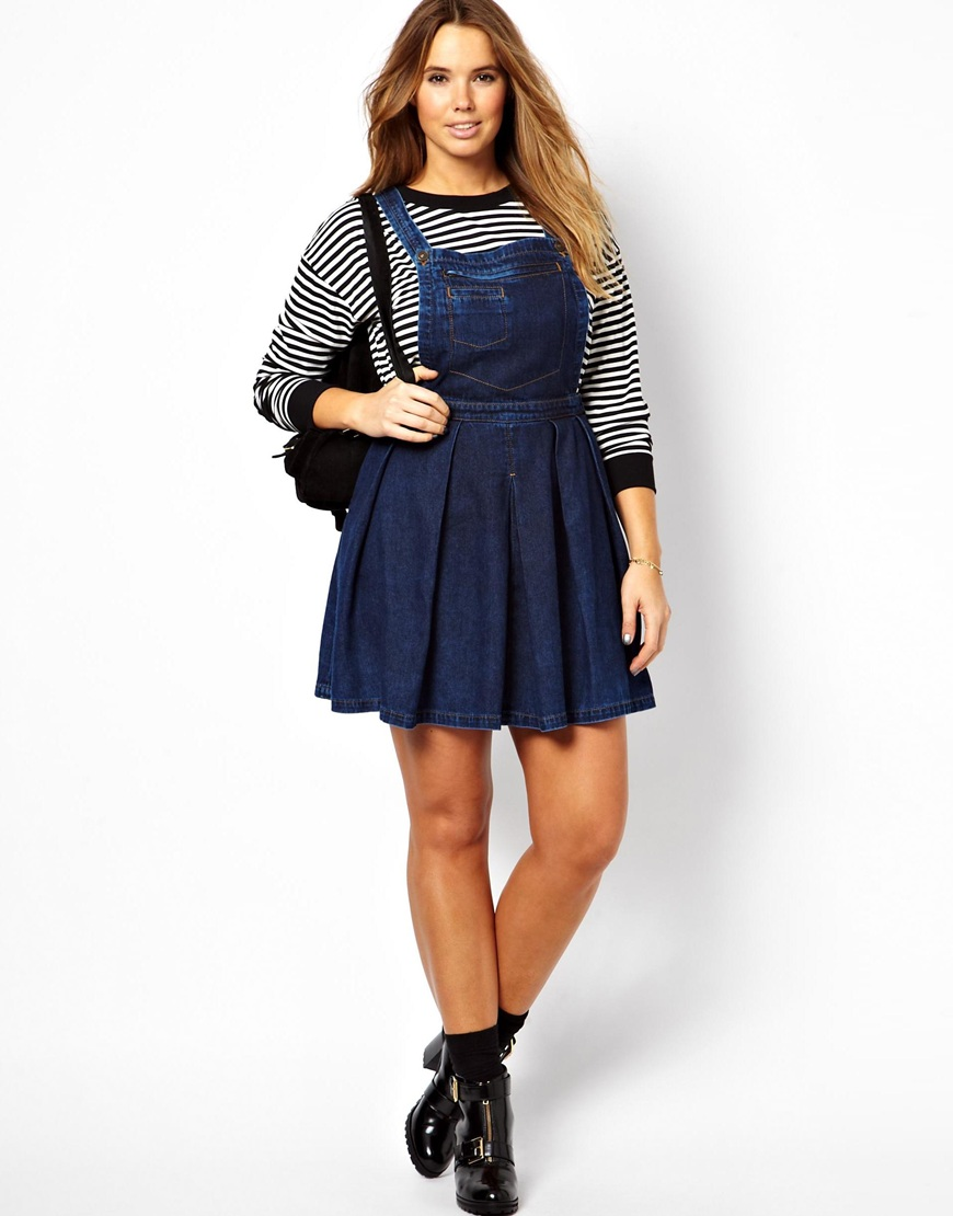Denim Overall Dress | WardrobeMag.com