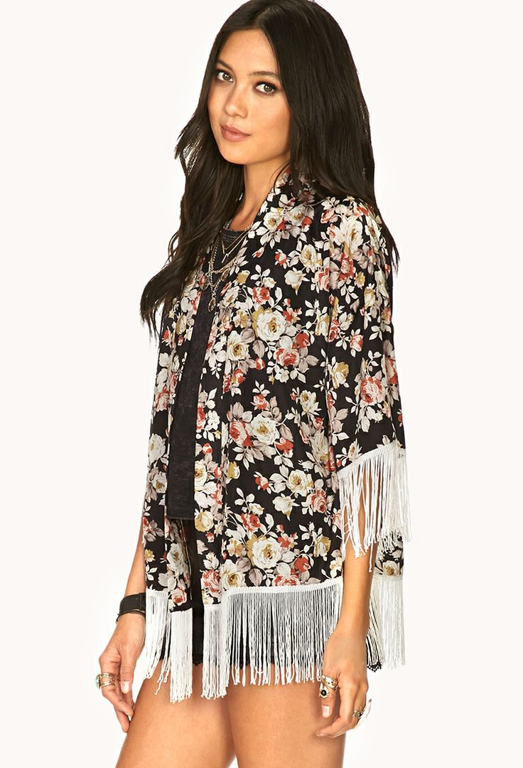 Find fringe kimono at ShopStyle. Shop the latest collection of fringe kimono from the most popular stores - all in one place.