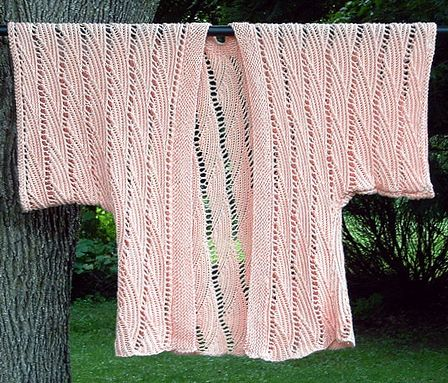 Knitted Kimono Wardrobe Mag