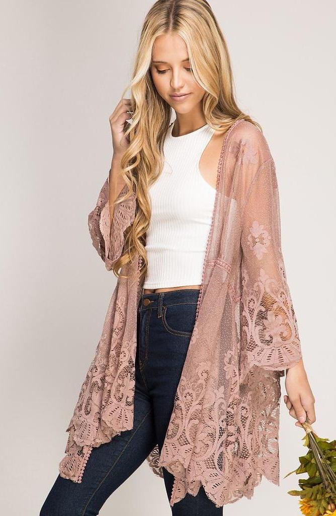 Lace Kimono Wardrobe Mag
