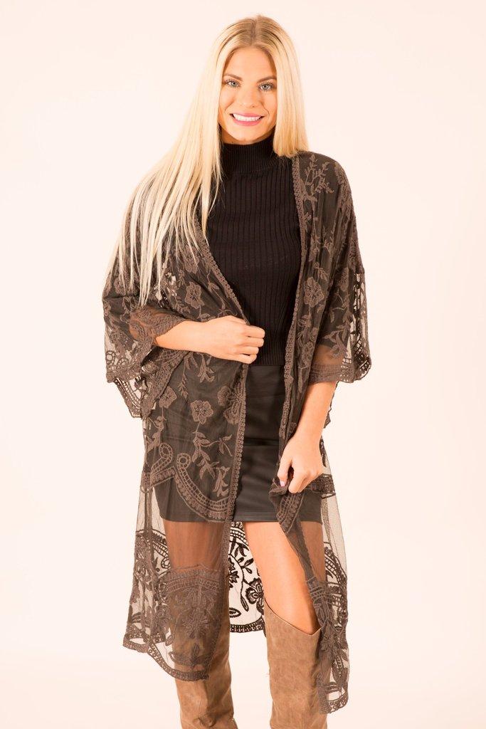 Lace Kimono Wardrobemag Com