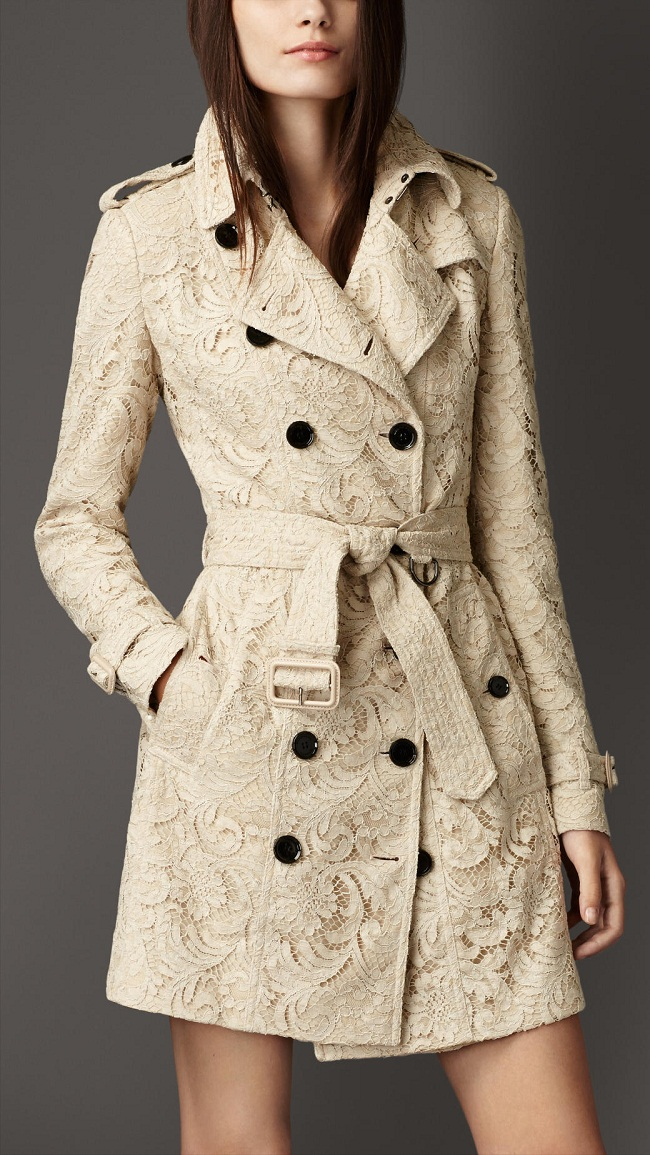 Lace Trench Coat Wardrobemag Com