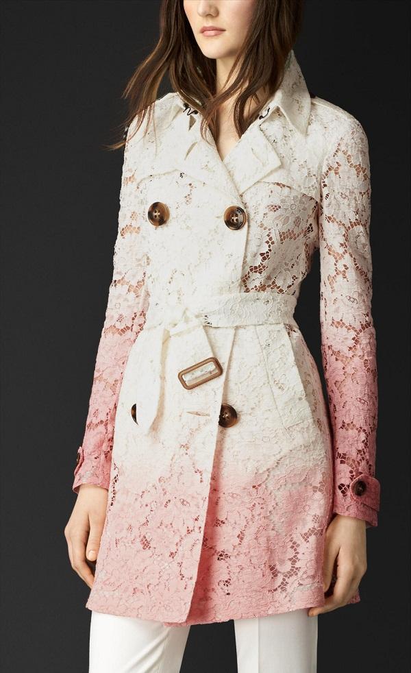 Lace Trench Coat Wardrobe Mag