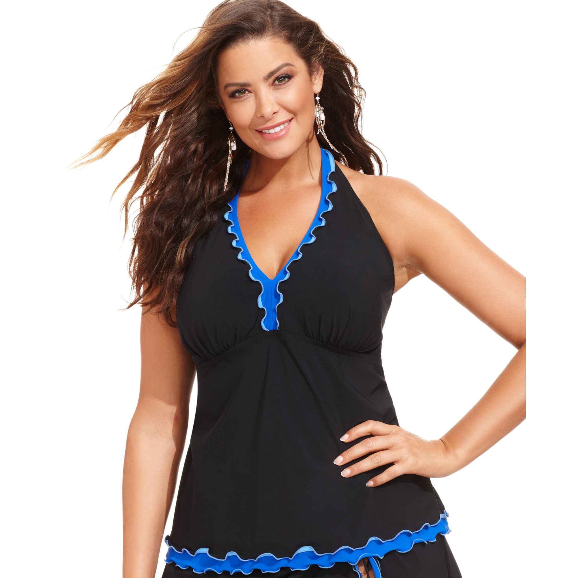 Plus Size Halter Tops Wardrobe Mag